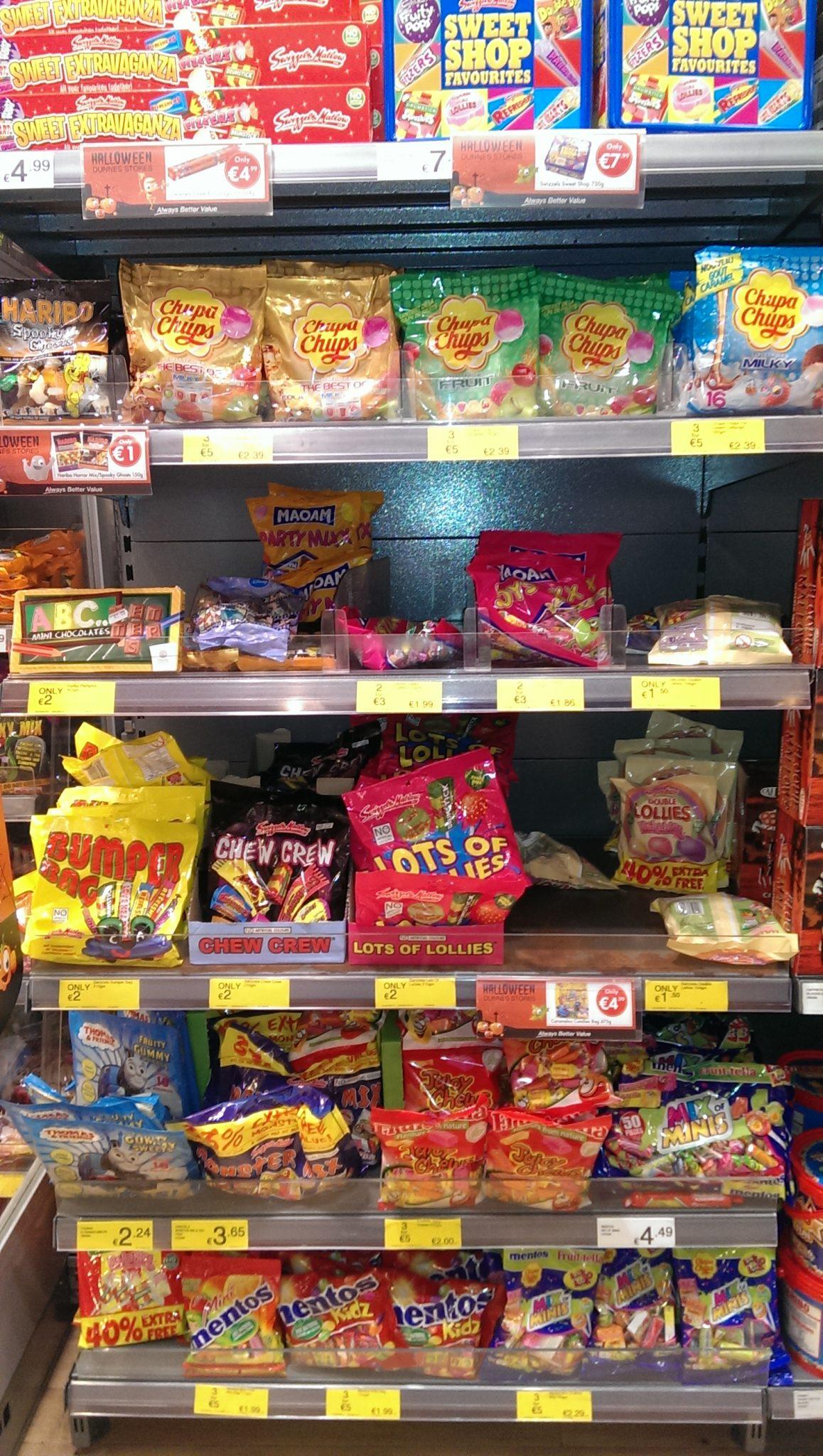 Halloween Shelf in my local supermarket