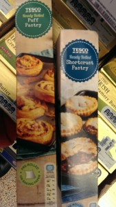 Tesco Ready Rolled Shortcrust and Puff Pastries