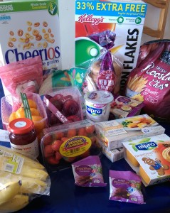 dairy free shopping from Tesco