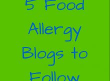 5 food allergy blogs to follow