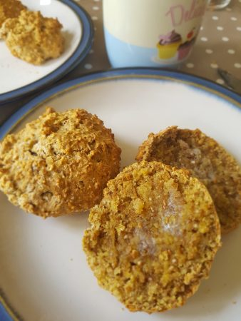 dairy free brown scones