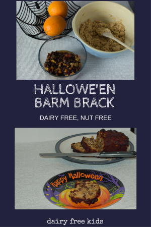 Halloween Barm Brack