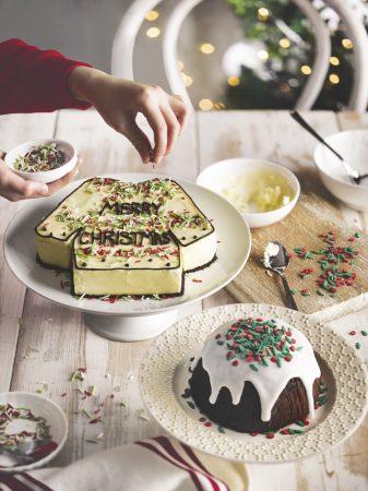 Tesco Christmas Jumper Cake