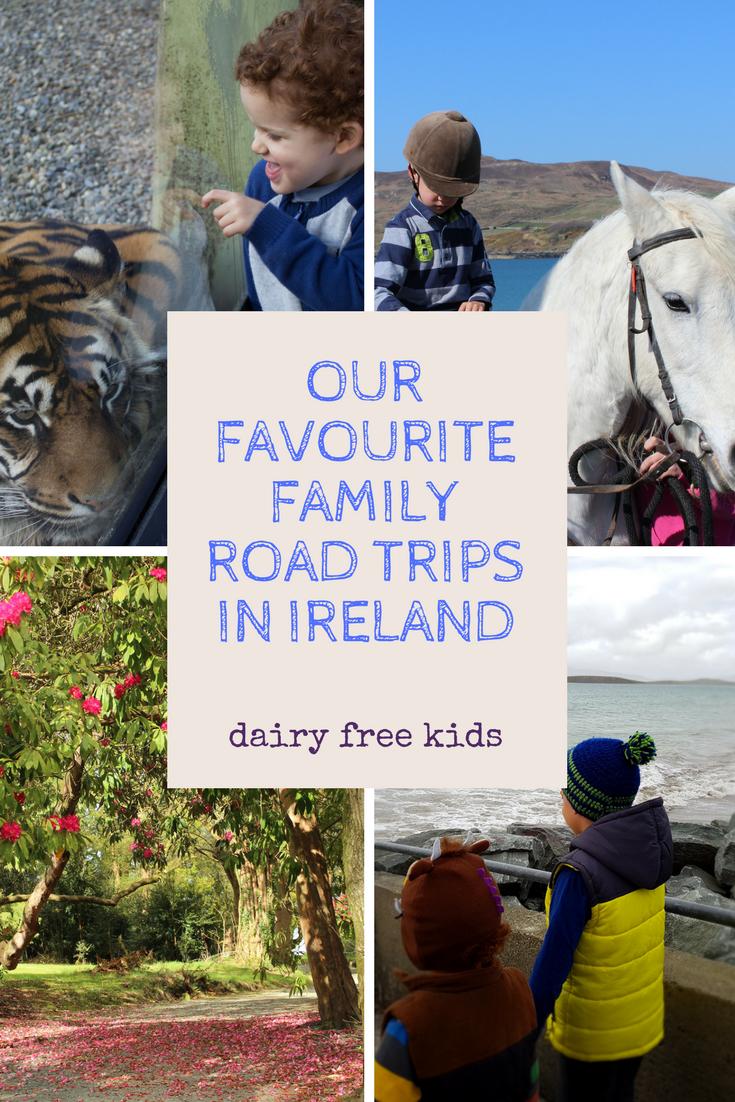 family road trips in Ireland